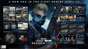 Call of Duty: Black Ops Cold War / Warzone  Temporada Tres