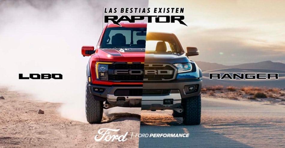 Ford raptor familia raptor
