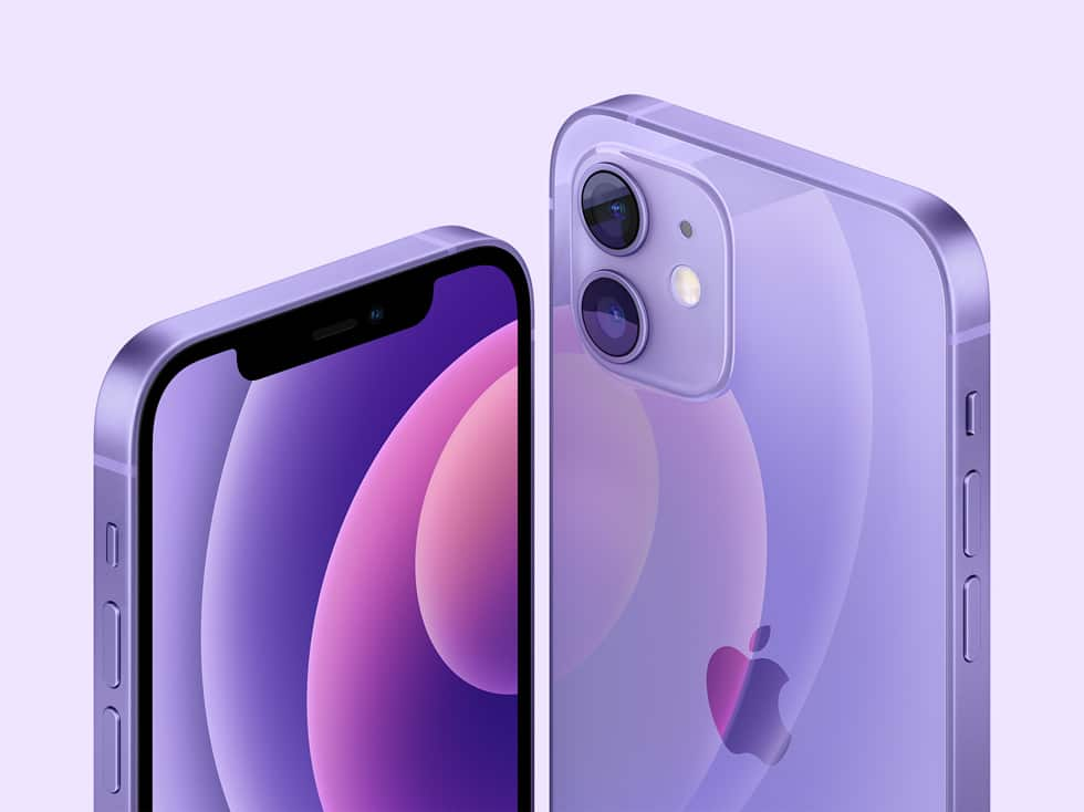 Spring Loaded 2021 iPhone 12 purple