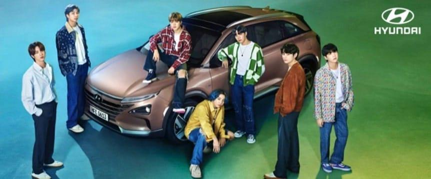 Hyundai Motors y BTS
