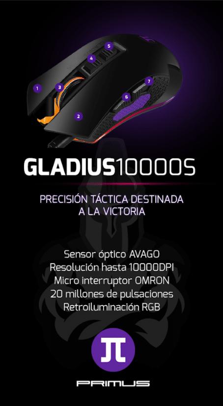 Primus accesorios gamer