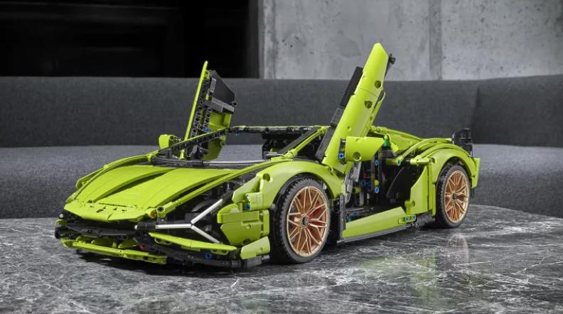 Lego Lamborghini vs Lego Bugatti