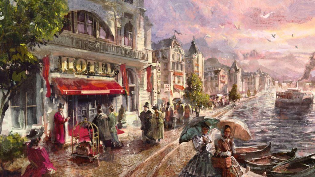 'Tourist Season' de Anno 1800