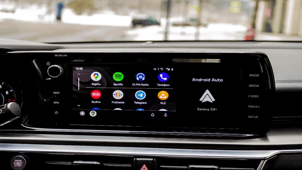 Actualizaciones para Android Auto