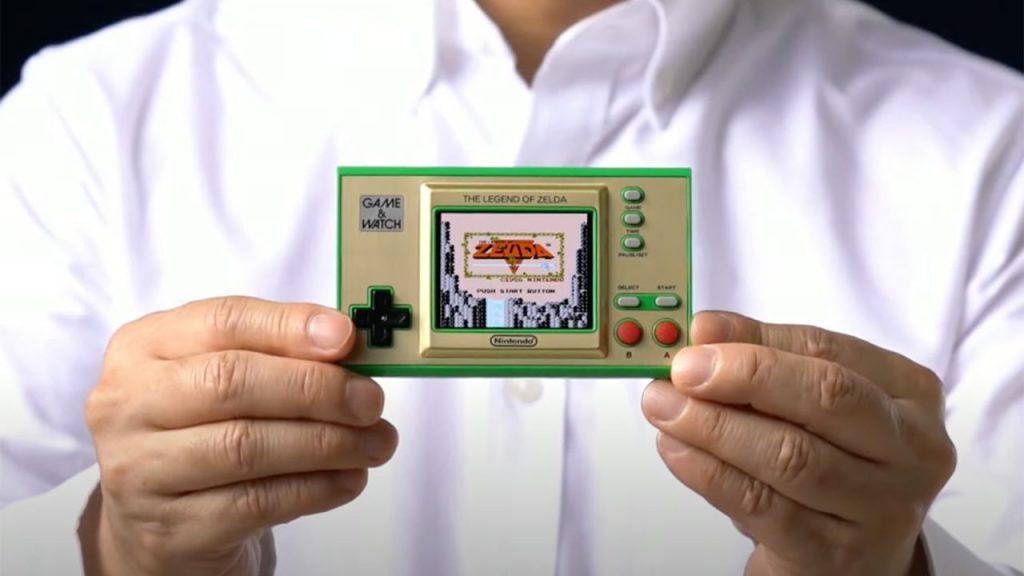 Nintendo Zelda Game & Watch