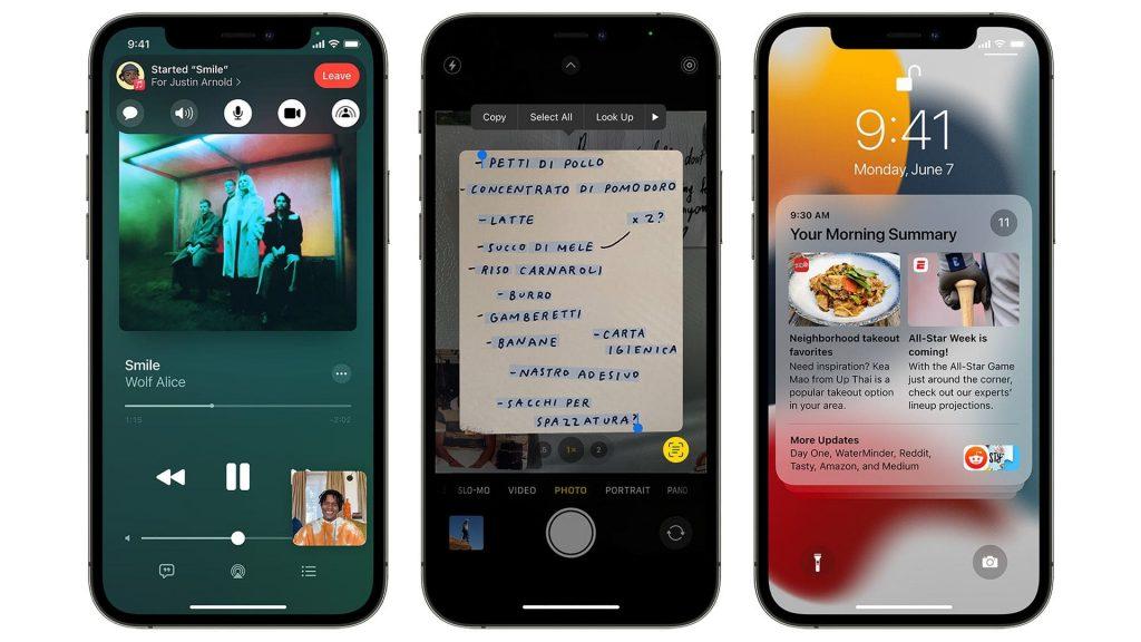 iOS 15 de Apple