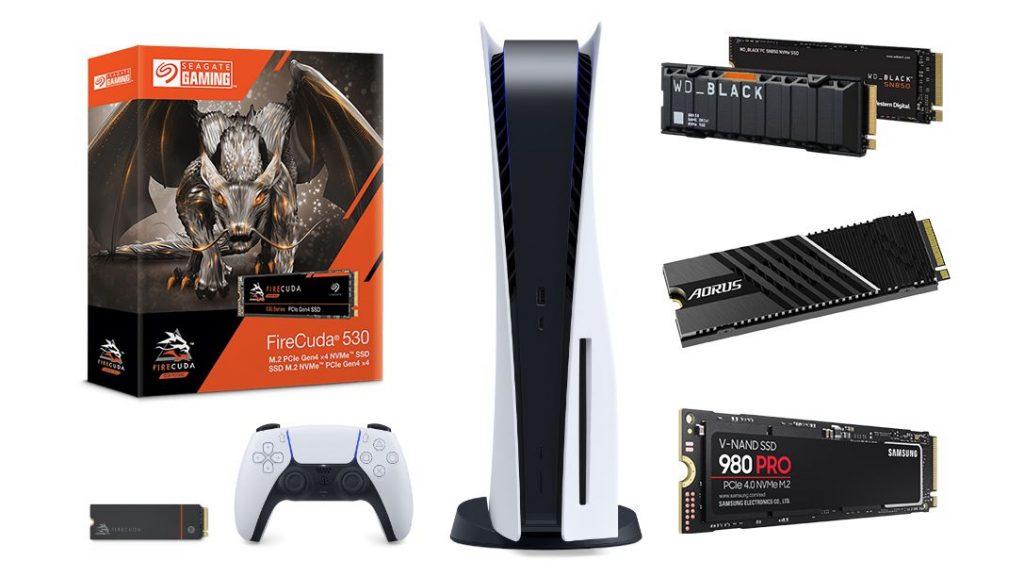 Mejores SSD para PS5